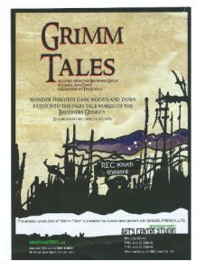 Grimm Tales Leaflet